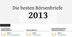 7. Deutscher Börsenbrief-Award 2013