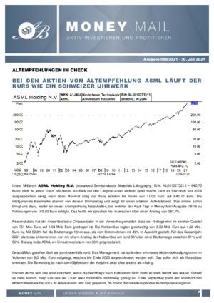Börsenbrief MoneyMail