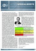 Börsenbrief Aktien-Spezialwerte