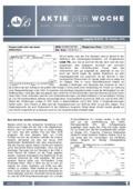 Börsenbrief Aktie der Woche