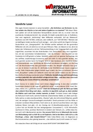 Börsenbrief WIRTSCHAFTSINFORMATION
