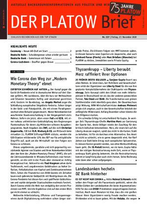 Börsenbrief Der PLATOW Brief