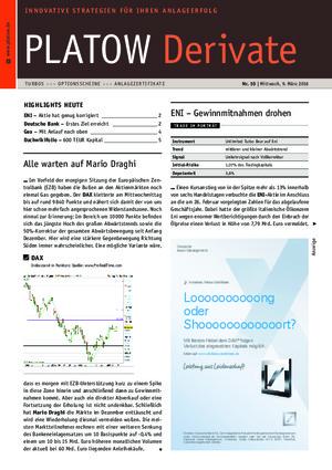 Börsenbrief Platow Derivate