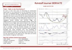 Börsenbrief RohstoffJournal DERIVATE
