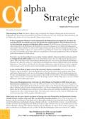 Börsenbrief Alpha Strategie